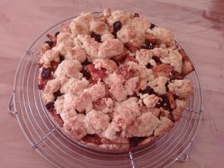 『コッツウォールドアップルケーキ』焼けました